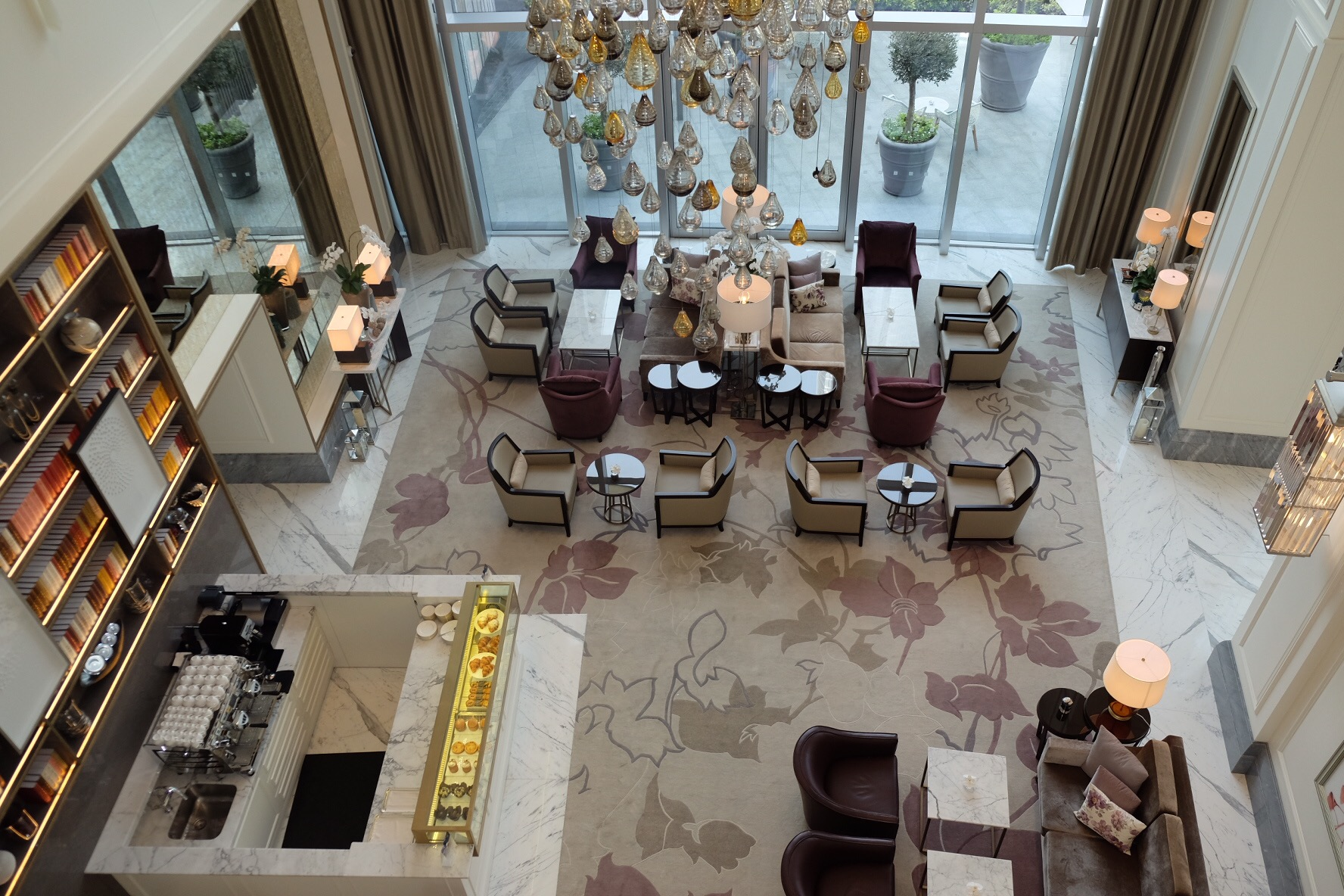 Afternoon tea at the lounge address boulevard u nilofar khan