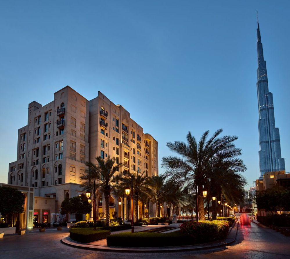 Manzil Downtown Dubai - Exterior with Burj Khalifa_preview